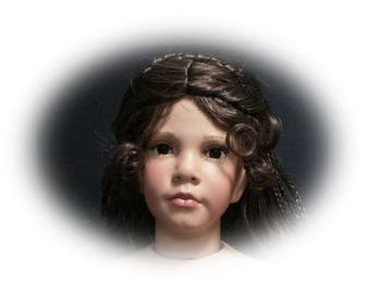 """DIY Reproduction  Porcelain Doll Kit Athena.  She will be a standing doll approx. 28"""" to 30"""" tall.  Sculptor Linda Mason & Donna Rubert"""