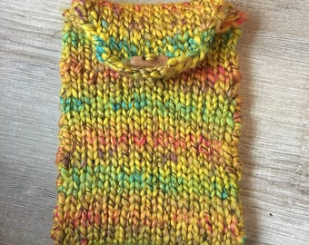 Knitted iPad mini case