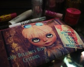Luna Blythe Custom Full Color Printed 2 Sided Cosmetics Pouch Womans March 2017 Tribute