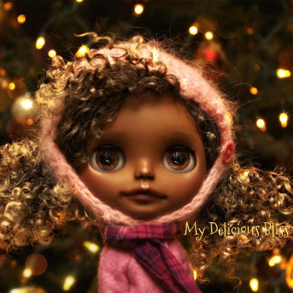 """Harper, One Of A Kind Beautiful Brown Blythe, Custom Takara Neo """"Check It Out"""""""