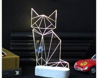 vorweihnachtliche verkauf einhorn lampe von sturlesidesign auf etsy. Black Bedroom Furniture Sets. Home Design Ideas