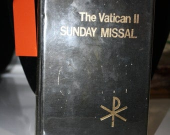 The Vatican II Sunday Missal A-B-C cycles, 1974