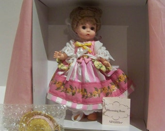 Blooming Rose blonde madame alexander 8 inch doll