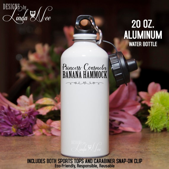 Princess Consuela Banana Hammock Friends Tv Show Water Bottle