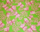 Dream Weaver cotton poplin 18 X 18 inches or 9 X 18 inches   ~Lilly Pulitzer~
