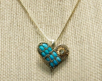 Mosaic Heart Necklace