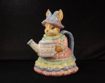 WORLD BAZAAR Mrs. Rabbit Teapot