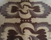 Vintage wool blanket originel 100% wool blanket Dutch blanket made in Holland Van Wijk