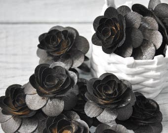 150 Pcs Natural Birch Wood Roses For Weddings Home