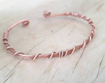 Single Strand Copper Cuff
