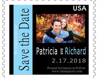 Custom & Personalized Stamp Save the Date Magnets Can do Mississippi Theme in Beach