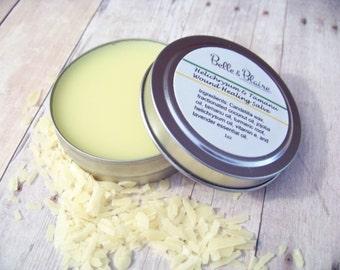 Helichrysum & Tamanu Wound Healing Salve- Herbal Neosporin- Boo Boo Balm- Bug Bites- Vegan- 1oz