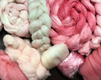 Romance Spinning felting crafting LUXERY kit made to order
