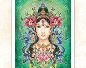 LARGE 'Goddess Tara' print