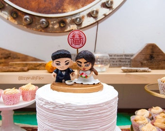 Wedding Munny Cake Toppers