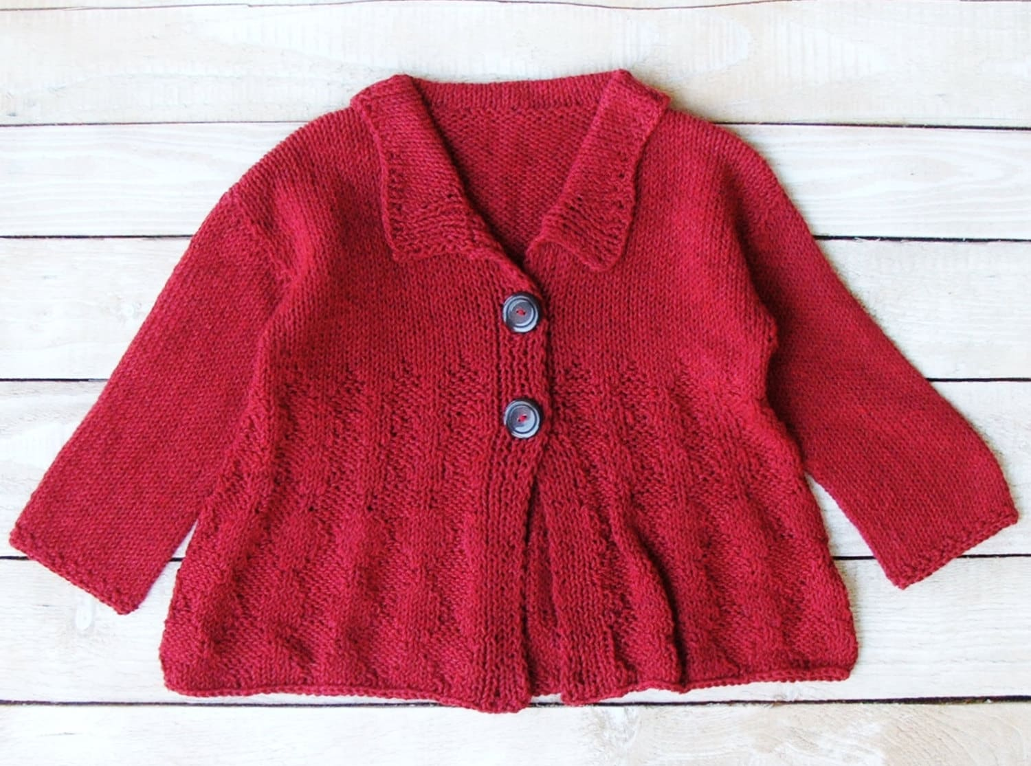 Girls Clothes Toddler Girl Cranberry Red Sweater Size 3T to 4T
