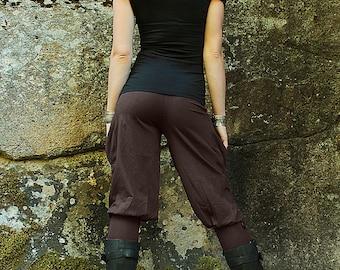 Pedal Pushers-Women's Clothing-capri yoga pants-womens pants-funky pants-biking pants-unique womens pants-sustainable fashion-ethically made