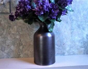 Brushed Copper Vase