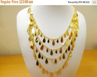 On Sale JOAN RIVERS Multi Layered Dangle Necklace Item K # 3185
