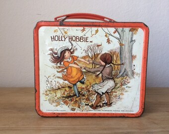 Vintage Metal Hollie Hobbie Lunchbox