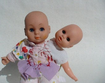 "Two Headed Baby Doll - Mutated Baby! from the ""Crying Baby Mystery Movie"" -"