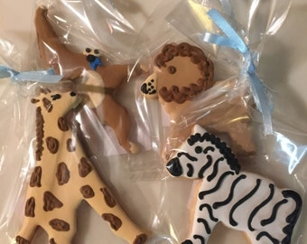 Animal Cookie Favors