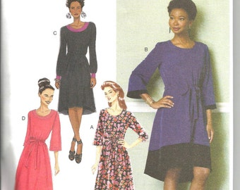Butterick 6409 new and uncut size Large to X large womans dress