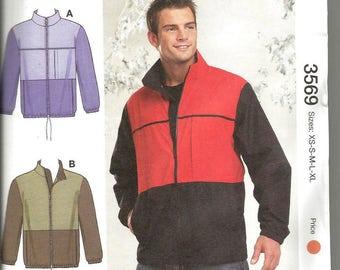 Kwik Sew 3569 new and uncut size S - XXL  mens jacket