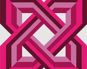 Needlepoint Kit or Canvas: Celtic Knot 6