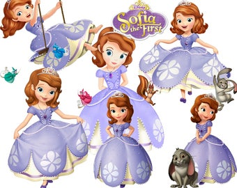 BEST collection of 100 Disney's SOFIA the First clipart - 100 high quality SOFIA clipart - 100 Sofia Graphics !!! frames included !!!