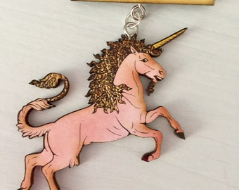Make a Wish Unicorn  Brooch