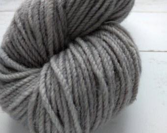 Nickel City- KR Rustic: Aran hand dyed yarn 112 g/4 oz 129 meters/141 yards