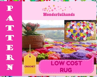 Low Cost RUG Crochet Pattern