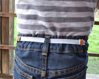 Elastic Waist Belt, snap elastic waist adjuster