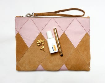 Large Clutch with detachable strap