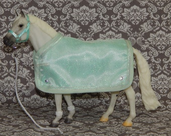 Blanket & Halter Set for Traditional Breyer Horse
