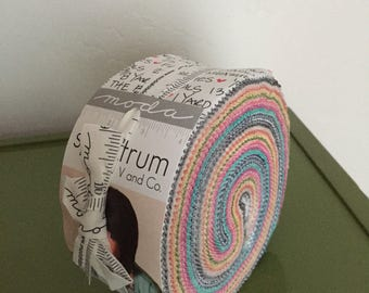 Flash Sale - Moda Spectrum by V and Co Jelly Roll Bundle