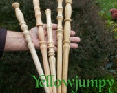 Hand turned old wooden wand............the magic is waiting