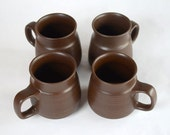 Denby Mayflower Coffee / Tea Mugs Set of 4 Made in England