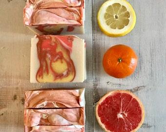 Sunrise- Natural Vegan Gourmet Soap