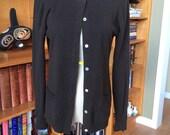Vintage Cashmere Cardigan, Ports International Cashmere, Cashmere Sweater, Size Medium, Excellent Condition, 1970s