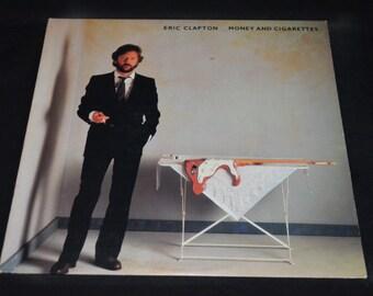 Vintage Vinyl Record Eric Clapton: Money and Cigarettes Album 1-23773