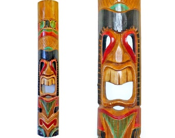 Tiki Totem Pole Wall Hanging