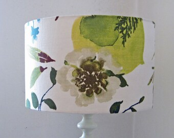 Autumn, Woodland Flower Design 35cm Diameter Large floor/Table Lamp or Ceiling Pendant light Shade - Suits UK or European Light Fittings.