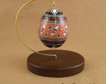 Pysanky Pisanki Ukrainian Polish Easter Egg Trypillian Hand Decorated Chicken Egg
