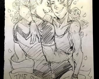 Shance Original Sketch