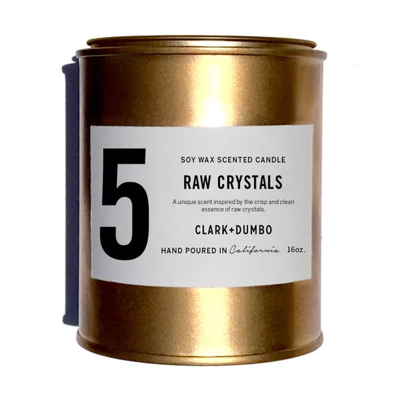No. 5 Raw Crystals - 16 oz.