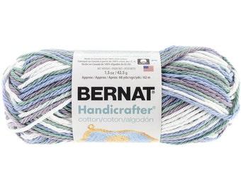 Bernat Handicrafter Ombres Cotton Yarn in Freshly Pressed