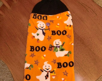 Halloween - Ghosts & BOO  Knit Top Kitchen Towels