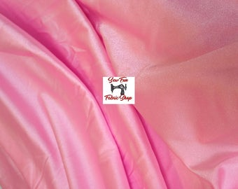 Pink or Black Spandex Lycra . . . Nylon Stretch Fabric...great for costumes, dance, theater, formal wear, pageant.